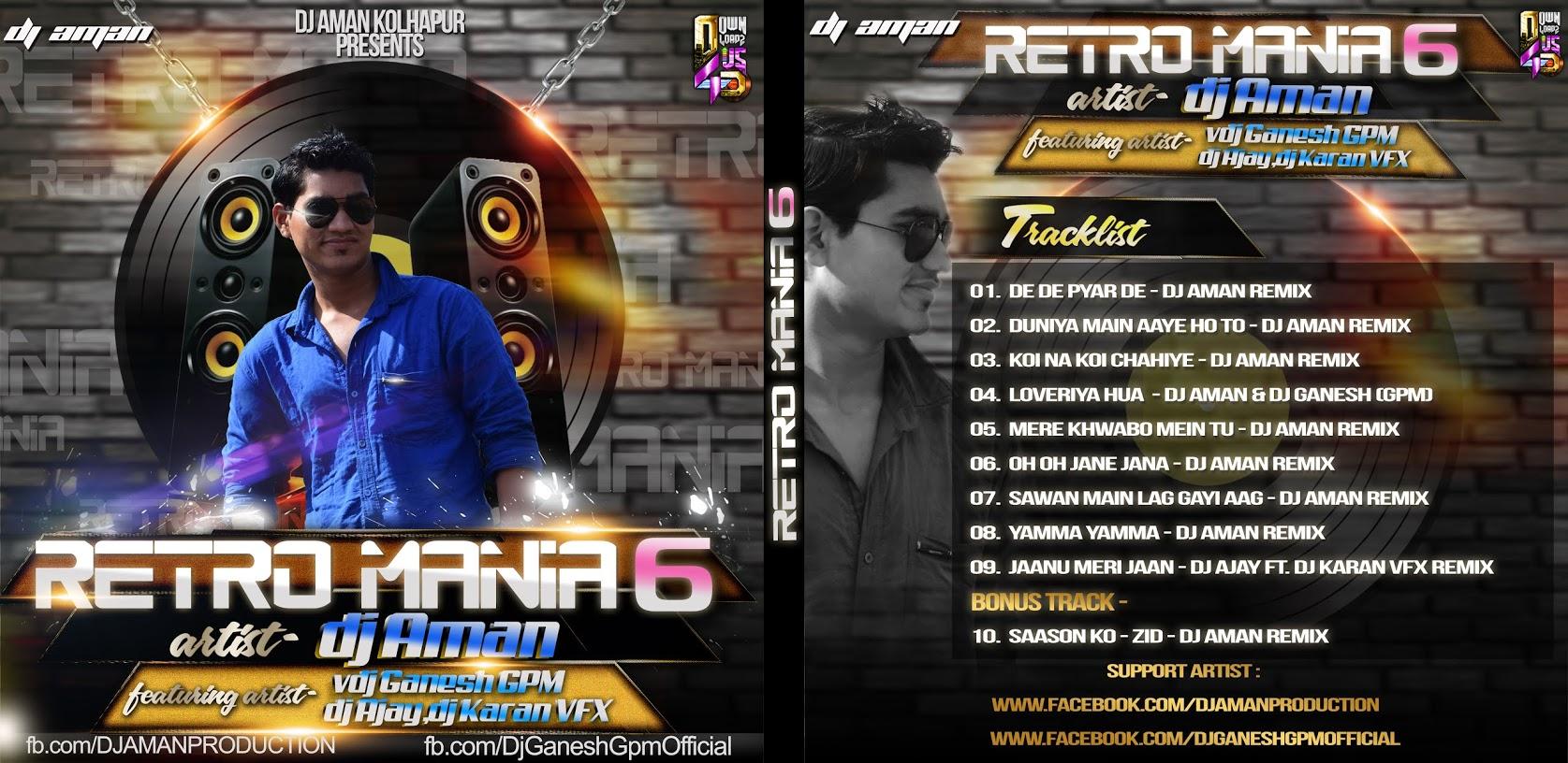 Retro Mania Vol.6 - DJ Aman