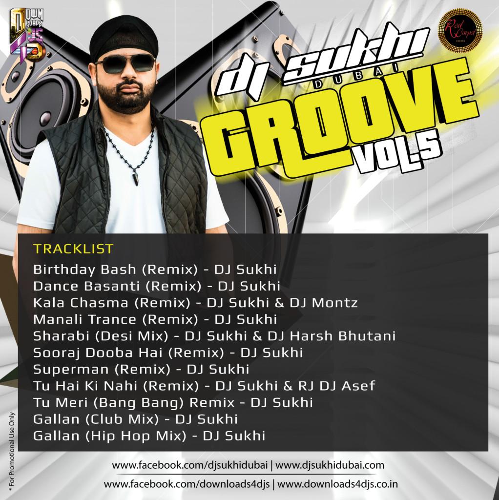 DJ Sukhi – Groove Vol 5 – Downloads4Djs