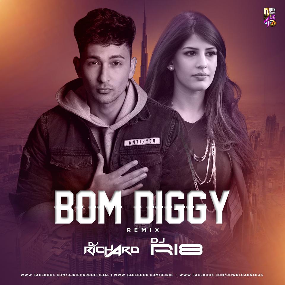 download boom diggy remix song